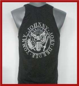 RAMONES ROAD TO RUIN TOUR 1979 ROCK TANK TOP T SHIRT SIZE M