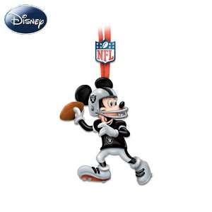 NFL Oakland Raiders Magic Disney Character Ornament