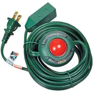 Woods 10203 15 Foot Indoor Extension Cord with Lighted Foot Switch