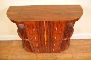 Art Deco Chest Drawers Console Table Sideboard