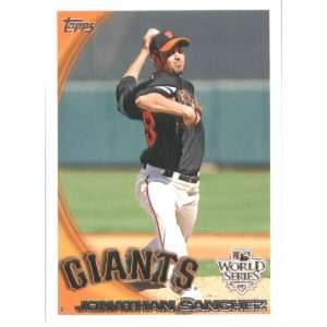 2010 Topps Pat Burrell San Francisco Giants World Series