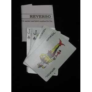 Reverso  Bicycle  Card / Close UP / Parlor Magic T Toys