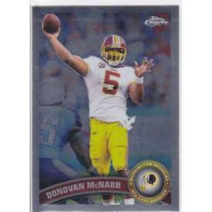 Redskins Team Set . . . Featuring Donovan McNabb . . . 10 Cards