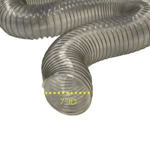 PVC Flexduct (Light Duty) Clear   Vent Hose   8 ID x 12