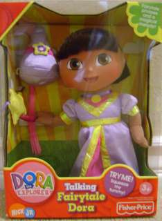 DORA THE EXPLORER TALKING FAIRYTALE DORA DOLL *NEW*