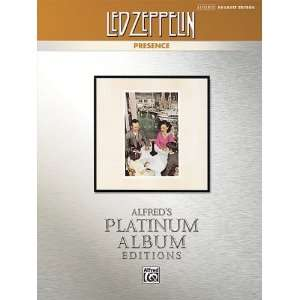 00 34862 Led Zeppelin  Presence Platinum Drums Musical Instruments