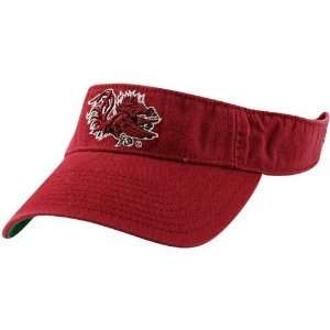 NCAA South Carolina Gamecocks Cardinal 3D Logo Adjustable