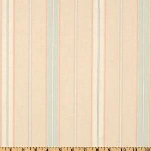 44 Wide Annette Tatum House Fall 2009 Euro Stripe Soft Sea Fabric By