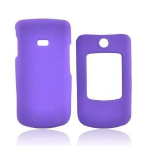 PURPLE For Samsung Contour Rubberized Hard Case Cover