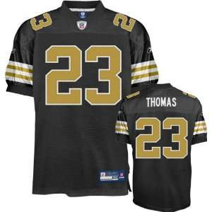 Pierre Thomas Jersey Reebok Authentic Gold Alternate #23 New Orleans