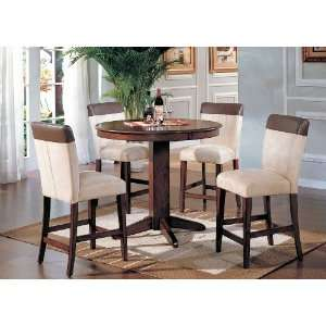 Yuan Tai Ashland 5 Pc Pub Set Pub Table, 4 Pub Chairs