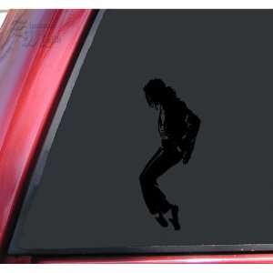 Michael Jackson Silhouette Vinyl Decal Sticker   Black
