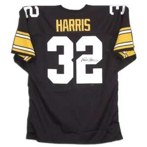 Franco Harris Autographed Custom Throwback Jersey Sports