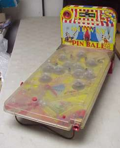 Vintage Marx Deluxe Electric Midway Pinball Game