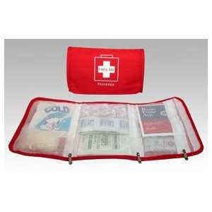 Small Trifold First Aid Kit (case w/supplies)