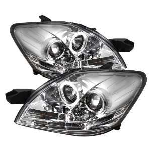 Spyder Auto PRO YD TYA074D DRL C Toyota Yaris 4 Door Chrome DRL LED