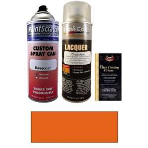 12.5 Oz. Dark Orange (Canadian Color) Spray Can Paint Kit for 2005 GMC