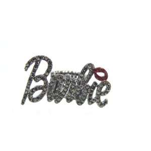 Nicki Minaj Barbie RING Black with Red Lip Jewelry