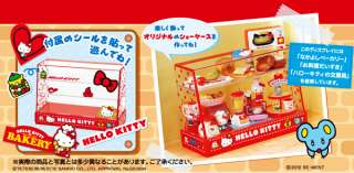 Re ment Miniature   Sanrio Characters Hello Kitty Cake Dessert Cabinet