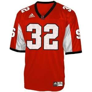 adidas North Carolina State Wolfpack #32 Red Youth Replica