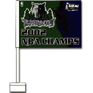 Los Angeles Lakers NBA Champions Car Flag Sports