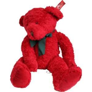 Russ Redford 27 Red Holiday Plush Teddy Bear Toys
