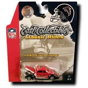NFL 164 1940 Ford Coupe Diecast   Falcons Sports