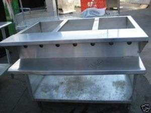 COMPARTMENT HOT FOOD TABLE, STEAMTABLE 8462 chef