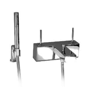 Aquabrass 28072PC Polished Chrome Hey Joe Double Handle