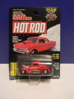RACING CHAMPIONS HOT ROD MAGAZINE #97E 34 FORD COUPE