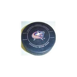 Columbus Blue Jackets NHL Hockey Official Game Puck 2009
