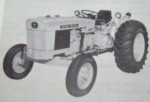 John Deere JD300 300 Industrial Tractor Parts Catalog