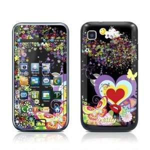 Flower Cloud Design Protective Skin Decal Sticker for Samsung Galaxy S