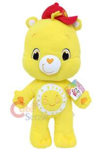Care Bears Funshine Bear Plush Doll Cuddle Pillow Cushion with Hat 28