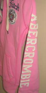 NWT Abercrombie & Fitch Womens Jordan Hoodie Jacket Extra Small Light