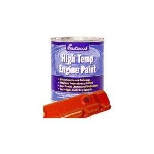 s Ceramic Engine Paint Quart 64 83 Chrysler Red Eastwood