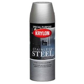 Stainless Steel Finish Aerosol Spray Paint, 11 Ounce, Stainless