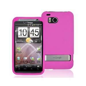HTC DROID INCREDIBLE HD 6400 HOT PINK SILICONE CASE Cell