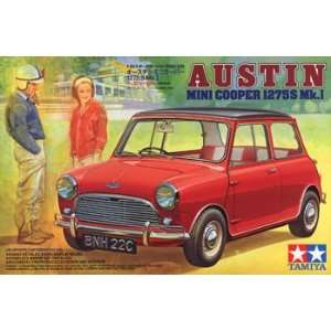Tamiya   1/24 Austin Mini Cooper (Plastic Model Vehicle