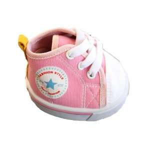 Pink Converse Style Shoes Teddy Bear Clothes Fit 14   18