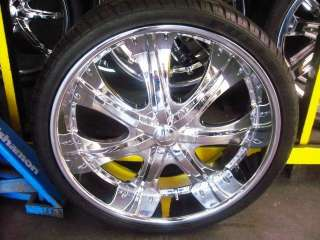 22 WHEELS/RIMS+TIRES   MAGNUM CHRYSLER 300 CHARGER