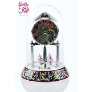 Barbie 50th Anniversary Clock   Retro
