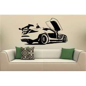 Wall MURAL Vinyl Sticker Car MCLAREN MERCEDES S. 1741