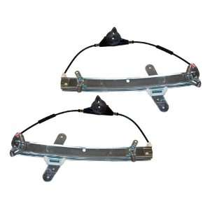 Lincoln Town Car Front Power Window Regulators without Motor Pair Set