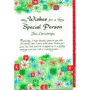 Blue Mountain Arts Greeting Card Christmas Wishes for a Very Special