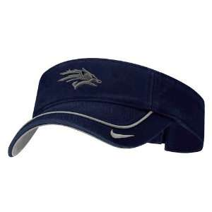 Nike Nevada Wolf Pack Navy Blue Swoosh Visor Sports