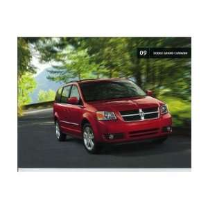 2009 DODGE CARAVAN Sales Brochure Literature Book