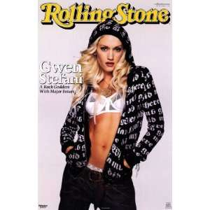 Gwen Stefani, Rolling Stone Cover Poster