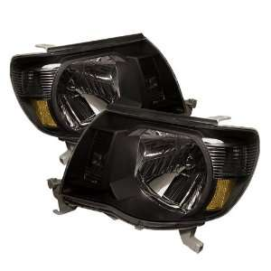 Toyota Tacoma Crystal Amber Headlights/ Head Lights/ Lamps