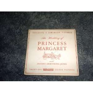 Wedding of Princess Margaret View Master Reels C280 SAWYERS Books
